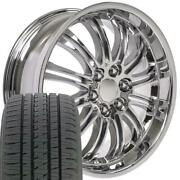 Oew Fits 22x9 Wheels And Tires Chevy Gm Cadillac Escalade Chrome Rims