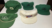 Vintage Snapback Hat Lot Of 5 K Products Pioneer Seed Corn Usa Made