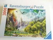 Ravensburger Reign Of Dragons Mythical 3000 Piece Puzzle - Ships Fast