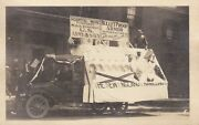 Rare Wwi Parade Postcard Middletown Ct New England Enameling Co Armor Army Navy