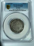 1632-kb Thaler Genuine Holed Vf Detail Hungary D-3129 Pcgs Authenticated