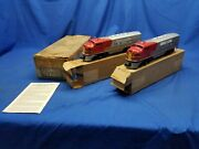 Lionel 2383c Santa Fe Aa Diesel Engines Road Number 2383 With Master Carton Sf