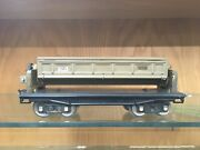 Lionel Standard Gauge 218 Mojave Dump Car With Brass Ends And One Knob Ex+