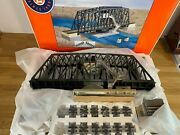 Lionel Swing Bridge 6-24111 With Accessories And Track O Scale New