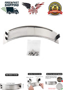 Omggparts Stainless Steel Draft Door Kit Bbq Accessories For Big Green Egg Mesh