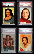 1953 Topps Who-z-at Star Complete Set - Premier 5 - Ex