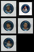 1965 Old London Coins Baseball Partial Complete Set 6 - Ex/mt