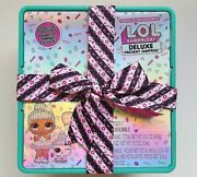 Lol Surprise Deluxe Present Surprise Limited Edition Exclusive Doll And Pet Nwt.