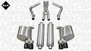 For 2011-2014 Dodge Charger 5.7l Corsa Black Xtreme Cat-back Exhaust Free Ship