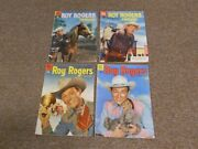 4 1955 Roy Rogers Dell Comic Books 85, 90, 92 And 94-western Cowboy