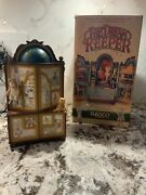 Vintage Enesco The Dream Keeper Lighted Animated Music Box 1989- Rare-works
