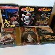 Mystery Jigsaw Puzzle Lot Of 6 Games Titanic Murder Clue Arson Lutz Bepuzzled