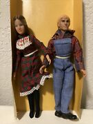 Mego Vintage John Boy And Ellen Poseable Figures From Thebtv Show, The Waltons
