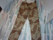 Nwts Tru-spec Chocolate Chip Oif I 6 Color Medium Hot Weather Pants
