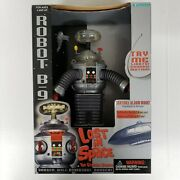 Lost In Space B-9 Robot 7 Large Action Figure 1997 Trendmasters New Open Box