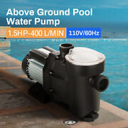 Anbull 1.5hp Swimming Pool Pump Motor W/strainer Generic In/above Ground New