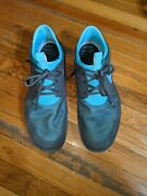 Nike Mens Solarsoft Moccasin Size 12 Gray And Blue 555301-040 Athletic Shoes
