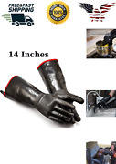 Omgggloves Oven Resistant Heat Bbq Cooking Mitts Grill Kitchen Hot Holder Xl14