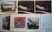 S2076 Space Travel Collection Nasa Photos With Autograph Letters Poster Sticker