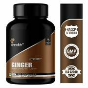 Ginger Extract Root Zingiber Officinale Digestive Support Caps - India