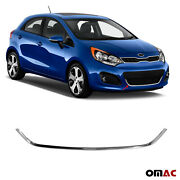 Chrome Front Grill Trim Cover Stainless Steel Fits Kia Rio Hb 2012-2017