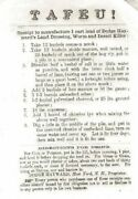 Tafeu A Receipt Recipe For Dodge Hayward's Land Dressing Worm And Insect Killer