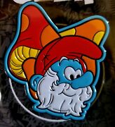 Adventures Of The Smurfs Papa Smurf Bam Geek Limited-edition Enamel Pin