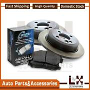 Centric Parts Disc Brake Pad Set Disc Brake Rotor Front Set Of 3 Fits S40 Volvo