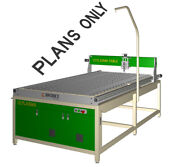 Diy Plans For Cnc Plasma Table 2450 X 1250 Mm With Water Tray
