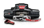 Warn Zeon 10s Platinum Recovery Winch 12vdc 100ft Synthetic Rope 10000 Lbs 92815