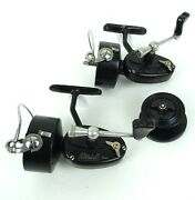 Mitchell 300 Spinning Reels 5th Version Mid-late 1950and039s 2 Reels Plus 1 Spool