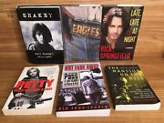 Classic Rock Books Eagles Petty Biography Shakey Young Dylan Springsteen Bio