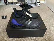 Ds Adidas Ultra Boost 4d 1.0 Black Purple Og Size 9 Men Us In Hand Ships Today