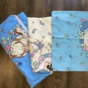 3 Pc. Disney Snow White Flat Fitted Sheets Pillow Case Dopey Vintage Twin