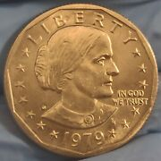 1979 D Susan B Anthony One Dollar Coin