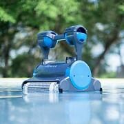 Dolphin Premier Robotic Pool Cleaner With Powerful Dual Scrubbing Brushes And Mu