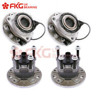 4x Front And Rear Wheel Hub Bearing Assembly For 2010-2011 Saab 9-3x 513191 512307