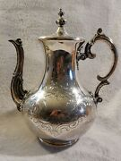 Antique 1838 Angell And Angell London Sterling Silver Teapot