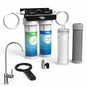 4-stage Undercounter Lead Cyst Andvoc Reducing Drinking Water System Faucet Filter