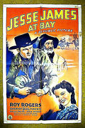 Roy Rogers George And039gabbyand039 Hayes Gale Storm 1941 Poster -- Jesse James At Bay