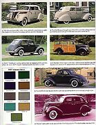 1937 Ford Article - Must See + Convertible + Woody Wagon + Pickup Truck