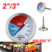 Home Temperature Gauge Thermometer For Barbecue Bbq Grill Smoker Pit Thermostat