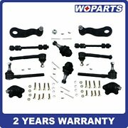 12pc Complete Front Suspension Kit Fit For Chevrolet K1500 Gmc Yukon - 4wd