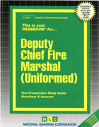 National Learning Corporation-deputy Chief Fire Marshal Uniformed Book New