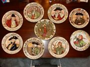 Royal Dalton Professional Series Plates Of The Entire Collection