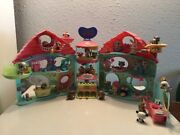 Littlest Pet Shop Biggest Playset W/pets And Accessories