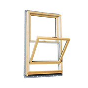 Andersen Double Hung Wood Window 33.625 In. X 40.875 In. Nail Fin Frame