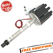 Pertronix D104600 Flame-thrower Stock-look Distributor For Sbc And Bbc