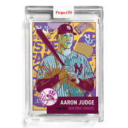Topps Project 70 Card 123 - 1953 Aaron Judge By Morning Breath
