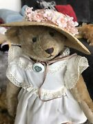 Steiff Le Vintage Pansy Bear With Ear Tag And Button